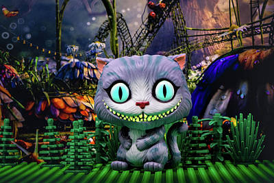 Photograph - Cheshire Cat  by Joseph Caban