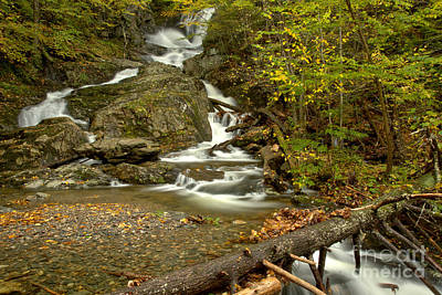 Photograph - Chester Sanderson Brook Falls by Adam Jewell