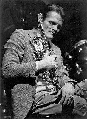 Music Photograph - Chet Baker Performing by Tom Copi