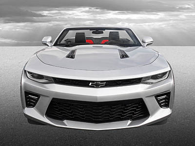 Photograph - Chevrolet Camaro 6.2l V8 by Gill Billington