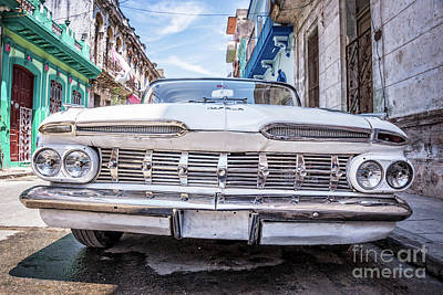 Chevrolet Impala In Havana Art Print