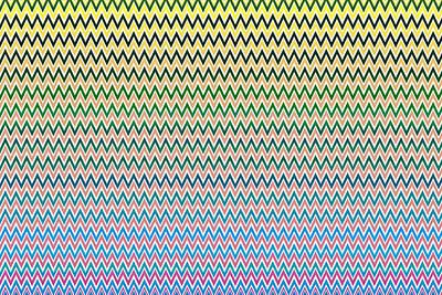 Chevron Print, Abstract Print, Geometric Shapes Original