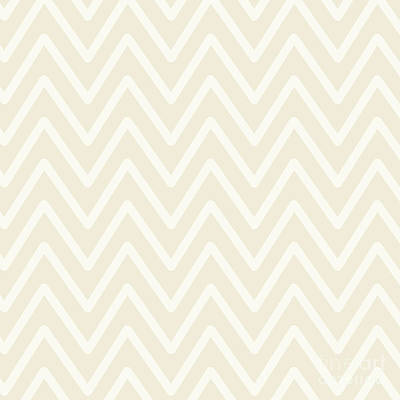 Photograph - Chevron Wave Bisque by Sharon Mau
