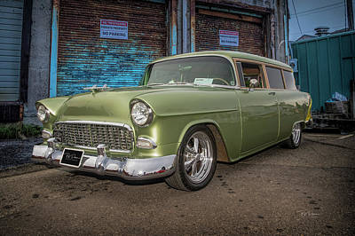Photograph - Chevy Handyman Wagon by Bill Posner