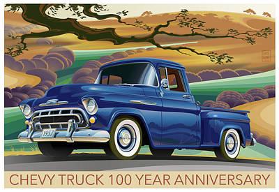 Chevy Truck Centennial 3100 Original