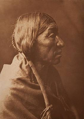 Painting - Cheyenne Profile By Edward Sheriff Curtis by Celestial Images