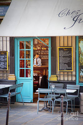 Photograph - Chez Julien Cafe Paris France by Brian Jannsen