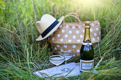 Photograph - Chic Picnic by Top Wallpapers