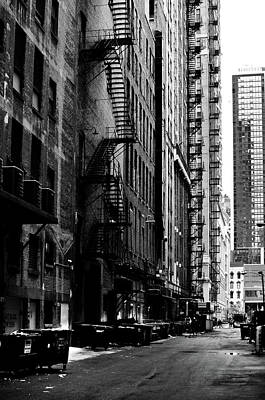 Photograph - Chicago Alley by Carlos Alkmin