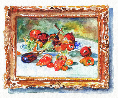 Painting - Chicago Art Museum Renoir Still Life Study by Irina Sztukowski