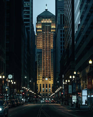 Art Print featuring the photograph Chicago Board Of Trade by Nisah Cheatham