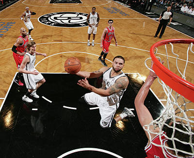 Photograph - Chicago Bulls V Brooklyn Nets by Nathaniel S. Butler