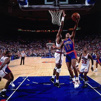 Photograph - Chicago Bulls V New York Knicks by Nathaniel S. Butler