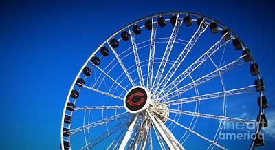 Photograph - Chicago Centennial Ferris Wheel by Robert Knight