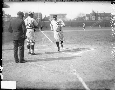 Photograph - Chicago Cubs Baseball Player Hack by Chicago History Museum