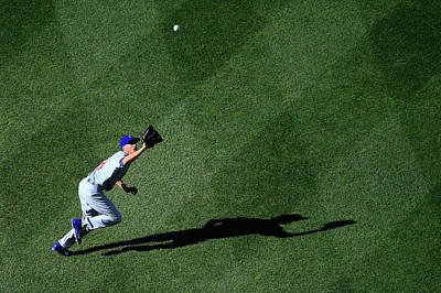 Photograph - Chicago Cubs V Washington Nationals by Rob Carr