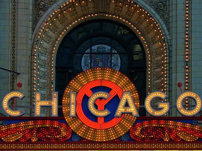 Chicago Emblem Art Print by By Ken Ilio