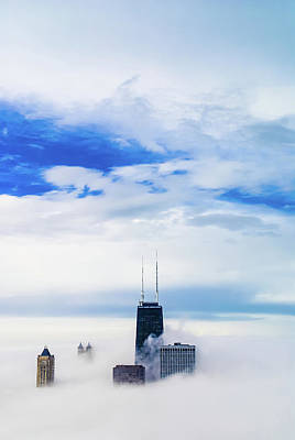 Photograph - Chicago Fog by Peter Stasiewicz