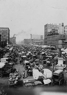 Chicago Haymarket Art Print by Hulton Archive