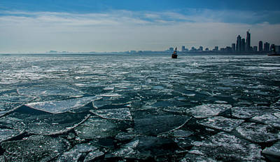 Photograph - Chicago In Winter by Stuart Manning