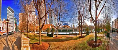 Photograph -  Chicago Millennium Park Mccormick Tribune Ice Rink  Jele3692  A by Tom Jelen