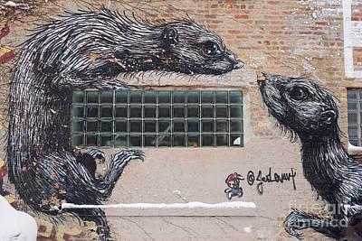 Photograph - Chicago Street Art, Graffiti, Rats by Juli Scalzi