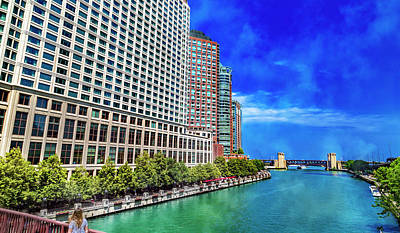 Royalty-Free and Rights-Managed Images - Chicago Tranquil Brilliance  by Betsy Knapp
