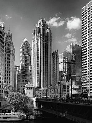 Photograph - Chicago Tribune Tower by David Oakill
