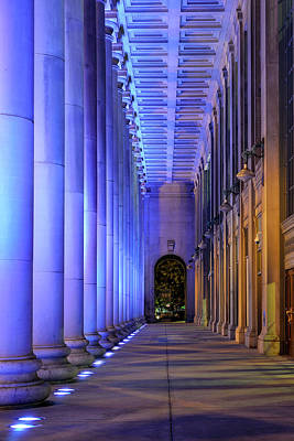 Royalty-Free and Rights-Managed Images - Chicago Union Station Portico by Chicago In Photographs