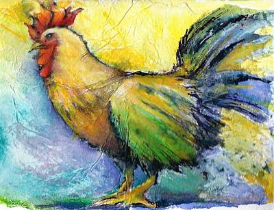 Mixed Media - Chicken Scratch by Betty Turner
