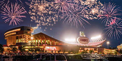 Photograph - Chiefs Celebration by Ryan Heffron