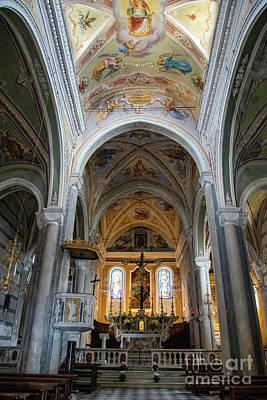 Photograph - Chiesa Di San Pietro Corniglia Cinque Terre by Wayne Moran