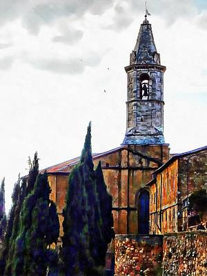 Photograph - Chiesa S Giovanni Pienza by Dorothy Berry-Lound