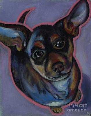 Pastel - chihuahua Wow Wow by Ann Hoff