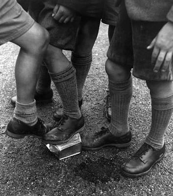Photograph - Childrens Clothing by Thurston Hopkins