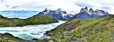 Photograph - Chile - Cerro Paine And Torres Del Paine Mountains by Jeremy Hall