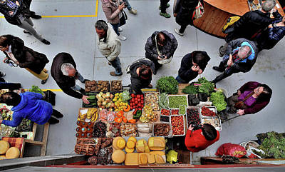 Photograph - Chile - Food Market 10 - Castro Town - Chileo Island by Jeremy Hall