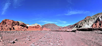Photograph - Chile - Valley Of The Rainbow - Atacama Desert by Jeremy Hall