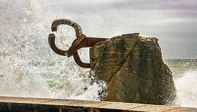 Photograph - Chillida Comb Of The Wind - Tempest by Weston Westmoreland