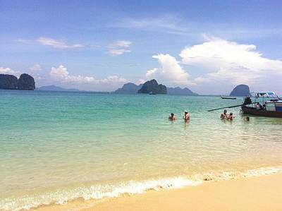 Photograph - Chilling In The Andaman by The Happy Cat
