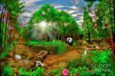 Photograph - China Panda Valley Dujiangyan Panda Valley China by Blake Richards