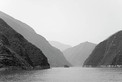 Photograph - China, Yangtze River, Three Gorges by Keren Su