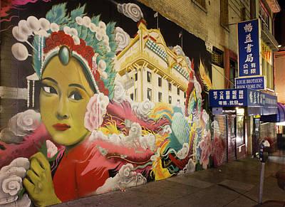 Photograph - Chinatown Mural San Francisco by Nathan Rupert