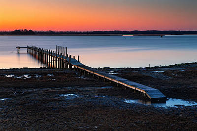 Photograph - Chincoteague Dawn by Alan Raasch