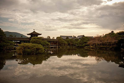 Photograph - Chinese Bridge At Heian Shrine In Kyoto by Gregor Hofbauer