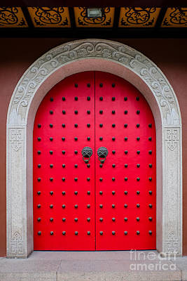 Photograph - Chinese Door Shanghai by Iryna Liveoak