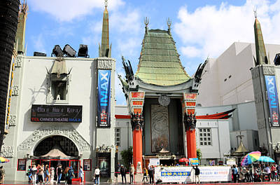 Keith Richards - Chinese Theatre Hollywood by Diann Fisher