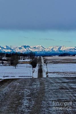 Photograph - Chinook Sky by Ann E Robson