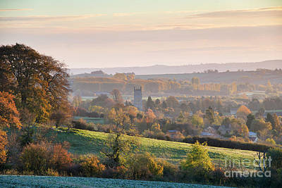 Photograph - Chipping Campden Autumn Morning Cotswolds by Tim Gainey