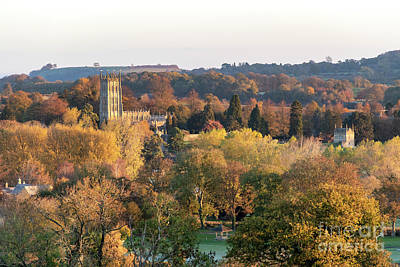 Photograph - Chipping Campden Autumn Sunrise by Tim Gainey
